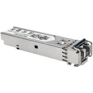 Tripp Lite HP J4858C Compatible SFP Transceiver 1000Base-SX LC DDM MMF - For Optical Network, Data Networking 1 LC Female Duplex 1000Base-SX Network -