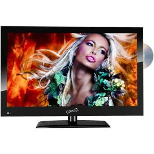"""Supersonic SC-1912 - 19"""" Class LED TV - with built-in DVD player - 720p 1366 x 768"""