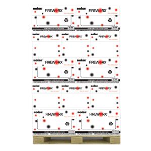 "Boise FIREWORX Pastels Paper, Letter Size (8 1/2"" x 11""), 20 Lb, 30% Recycled, FSC Certified, Popper-Mint Green, Ream Of 500 Sheets, Case Of 10 Rea"