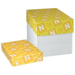 """Neenah Paper Classic Crest Cover Paper, Letter Size (8-1/2"""" x 11""""), 97 Brightness, 110 Lb, Solar White, 250 Sheets Per Ream, Case Of 10 Reams"""