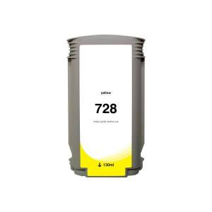 Clover Imaging Group Wide Format - 300 ml - yellow - compatible - ink cartridge (alternative for: HP 728) - for HP DesignJet T730, T830