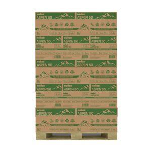 "Boise ASPEN Multi-Use Copy Paper, Letter Size (8 1/2"" x 11""), 92 (U.S.) Brightness, 20 Lb, 50% Recycled, FSC Certified, Ream Of 500 Sheets, Case Of"