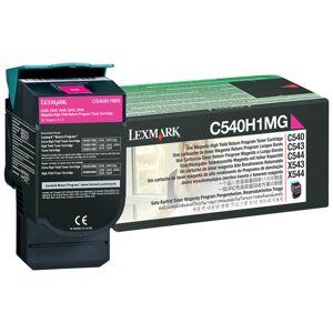 Lexmark C540H1MG Return Program Magenta Toner Cartridge