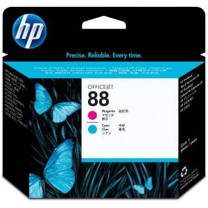 HP 88 (C9382A) Cyan and Magenta Print Head