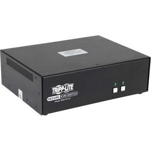 Tripp Lite Secure KVM Switch 2-Port DVI + Audio NIAP PP3.0 Certified DVI-I - 2 Computer(s) - 1 Local User(s) - 2560 x 1600 - 4 x USB - 3 x DVI - TAA C