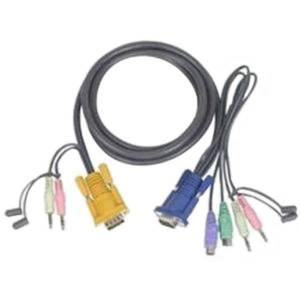 Aten Keyboard / mouse / video / audio cable - 10ft