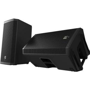 Electro-Voice ZLX-15 2-way Speaker - 250 W RMS - Black - 1000 W (PMPO) - 56 Hz to 18 kHz - 8 Ohm
