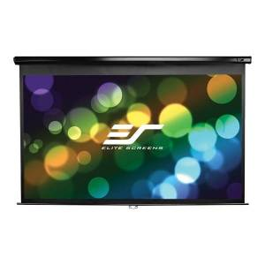 """Elite Screen Manual Wall And Ceiling Projection Screen, 100"""", M100XWH"""