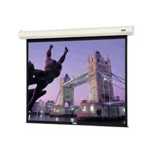 "Da-Lite Cosmopolitan Electrol Square Format - Projection screen - motorized - 120 V - 136"" (135.8 in) - 1:1 - Matte White - white"
