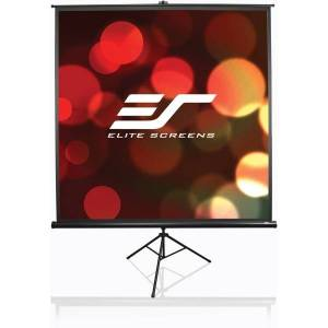 """Elite Screens Tripod Series - 92-INCH 16:9, Portable Pull Up Home Movie/ Theater/ Office Projector Screen, 8K / ULTRA HD, 2-YEAR WARRANTY, T92UWH"""""""