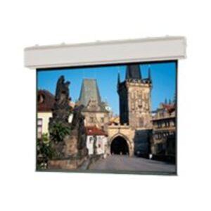 "Da-Lite Large Advantage Deluxe Electrol HDTV Format - Projection screen - motorized - 120 V - 216"" (216.1 in) - 1.78:1 - Matte White - white powder co"