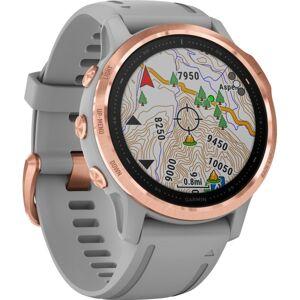 "Garmin fÄnix 6S Sapphire GPS Watch - Wrist - 32 GB - 1.2"" - 240 x 240 - Touchscreen - Bluetooth - Wireless LAN - GPS - 480 Hour - Round - 1.65"""