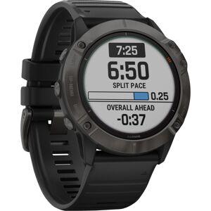"Garmin fÄnix 6X Pro Solar GPS Watch - Wrist - 1.4"" - 280 x 280 - Touchscreen - Bluetooth - Wireless LAN - GPS - 1104 Hour - Round - 2.01"" - Tita"