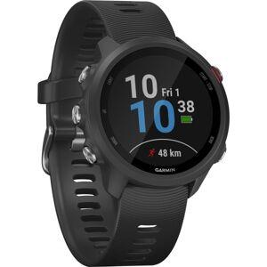 "Garmin Forerunner 245 GPS Watch - Wrist - 1.2"" - 240 x 240 - Bluetooth - GPS - 168 Hour - Black - Glass Lens - Fiber Reinforced Polymer Case - Silicon"