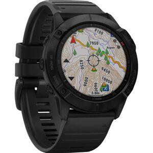 "Garmin fÄnix 6X Pro GPS Watch - Wrist - 32 GB - 1.4"" - 280 x 280 - Touchscreen - Bluetooth - Wireless LAN - GPS - 1104 Hour - Round - 2.01"" - Bl"
