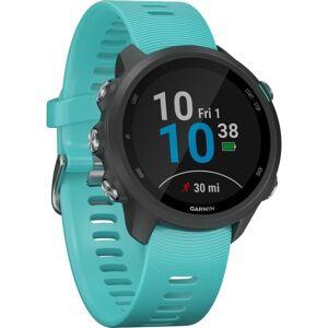 "Garmin Forerunner 245 GPS Watch - Wrist - 1.2"" - 240 x 240 - Bluetooth - GPS - 168 Hour - Aqua - Glass Lens - Fiber Reinforced Polymer Case - Silicone"