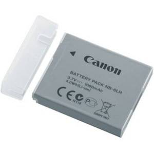 Canon Rechargeable Li-ion Battery NB-6LH - Battery Rechargeable - 3.7 V DC - 1060 mAh - Lithium Ion (Li-Ion)