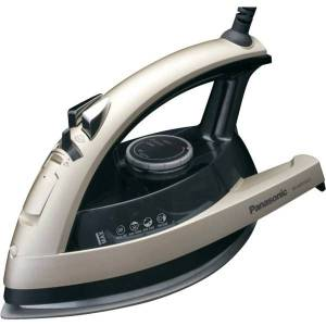 Panasonic Steam Iron, 6.75 Fl Oz, Champagne/Gray
