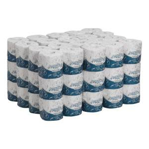 Angel Soft Ultra Professional Angel Soft by GP PRO Ultra Professional Series 2-Ply Embossed Toilet Paper, 400 Sheets Per Roll, 60 Rolls Per Pack
