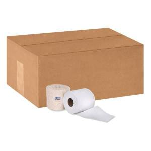 Tork Premium 2-Ply Toilet Paper, 625 Sheets Per Roll, Pack Of 48 Rolls