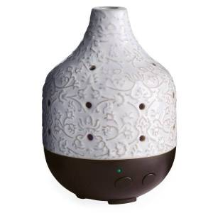 """Airome Ultrasonic Essential Oil Diffusers, 7-1/2"""" x 5-1/2"""", 8.5 Fl Oz, Botanical, Pack Of 6 Diffusers"""