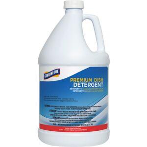 Genuine Joe Premium Dish Detergent - Concentrate Liquid - 128 fl oz (4 quart) - 1 Each - Blue
