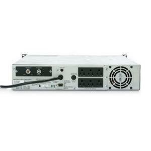 APC Smart -UPS 1500VA RM 2U 120V SHIPBOARD- Not sold in CO, VT and WA - 1440VA/980W - 7.4 Minute Full Load - 6 x NEMA 5-15R