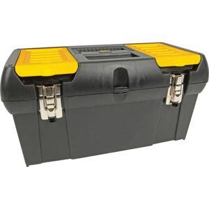 "Stanley-Bostitch Stanley Bostitch Tool Box With Tray, 9 3/4""H x 10 1/4""W x 19 1/4""D"