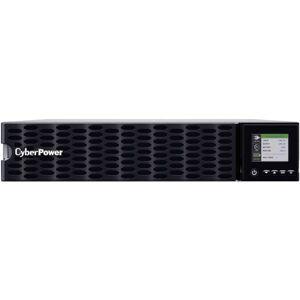 CyberPower OL6KRTHD Smart App Online UPS Systems - 200 - 240 VAC, Hardwire Terminal (NEMA L6-30P power cord included), 2U, Rack / Tower, Sine Wave, 4