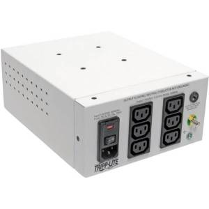 Tripp Lite Isolation Transformer Hospital Dual-Voltage 115/230V 600W 6 C13 - 600 VA - 120 V AC, 230 V AC Input - 115 V AC, 230 V AC Output