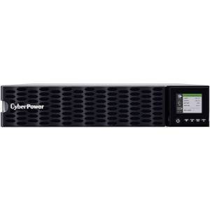 CyberPower OL5KRTHD Smart App Online UPS Systems - 200 - 240 VAC, Hardwire Terminal (NEMA L6-30P power cord included), 2U, Rack / Tower, Sine Wave, 4