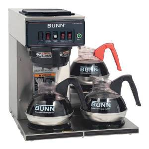 Bunn CWT15 12-Cup Automatic Coffeemaker, Stainless Steel