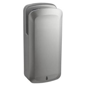 "Alpine OAK High-Speed Commercial 120V Touchless Electric Hand Dryer, 27.5""H x 11.75""W x 7.25""D, Gray"