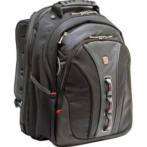 """Wenger Legacy Backpack With 16"""" Laptop Pocket, Black"""
