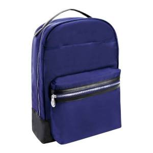 "McKlein N-Series Parker Nano Tech Backpack With 15"" Laptop Pocket, Navy"