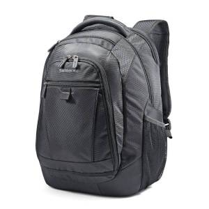 "Samsonite Tectonic 2 Carrying Case (Backpack) for 15.6"" Notebook - Black - Shock Resistant Interior, Slip Resistant Shoulder Strap - Poly Ballistic, T"