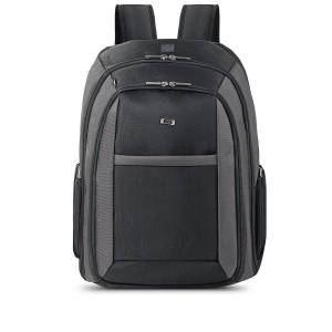 Solo Bags Solo CheckFast?Laptop Backpack, Black