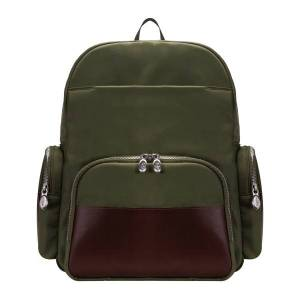 """McKlein N-Series Cumberland Nano Tech Backpack With 17"""" Laptop Pocket, Green"""
