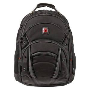 Wenger Synergy Ballistic Laptop Backpack, Black