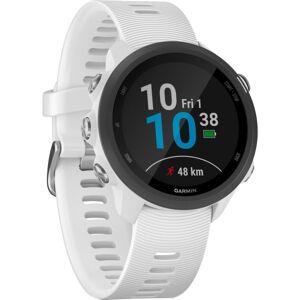 "Garmin Forerunner 245 GPS Watch - Wrist - 1.2"" - 240 x 240 - Bluetooth - GPS - 168 Hour - White - Glass Lens - Fiber Reinforced Polymer Case - Silicon"