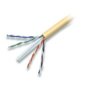 Belkin Cat. 6 High Performance UTP Bulk Cable (Bare wire) - 1000ft - Yellow
