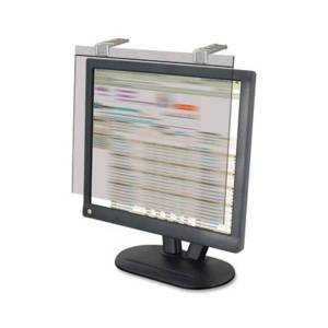 """Kantek LCD Privacy Filter Clear - For 20""""LCD Monitor - Scratch Resistant - Anti-glare - 1 Pack"""