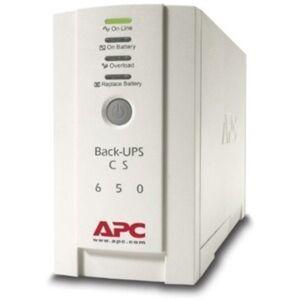 APC Back-UPS CS 650VA 230V For International Use - 650VA/400W - 11.4 Minute Full Load - 3 x IEC 320-C13 - Battery/Surge-protected, 2 x - Battery/Surge