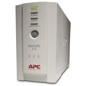 APC Back-UPS CS 325VA w/o Software - 325VA/210W - 6.6 Minute Full Load - 1 x IEC 320-C13 - Surge-protected, 3 x IEC 320-C13 - Battery Backup System