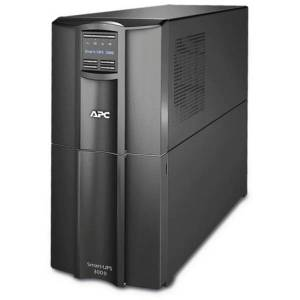 APC by Schneider Electric Smart-UPS SMT3000I 3000 VA Tower UPS - Tower - 6 Minute Stand-by - 230 V AC Output