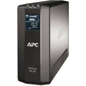 APC Back-UPS RS 550VA Tower UPS - 550VA/330W - 3 Minute - 3 x IEC 60320 C13, 3 x IEC 60320 C13