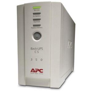 APC Back-UPS, Small Office, 16-Minute Backup, 350VA/210 Watt
