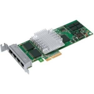 Intel PRO/1000 PT Quad Port LP Server Adapter - PCI Express x4 - 10/100/1000Base-T - Low-profile - Retail