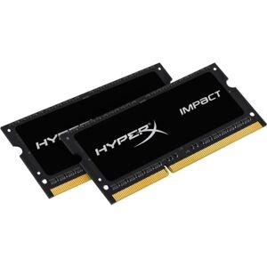 HyperX Impact 16GB DDR3 SDRAM Memory Module - For Notebook - 16 GB (2 x 8 GB) - DDR3-1600/PC3-12800 DDR3 SDRAM - CL9 - 1.35 V - Non-ECC - Unbuffered -