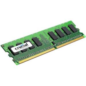 Crucial 4GB DDR3L SDRAM Memory Module - For Desktop PC - 4 GB (1 x 4 GB) - DDR3L-1600/PC3-12800 DDR3L SDRAM - CL9 - 1.35 V - Non-ECC - Unbuffered - 24